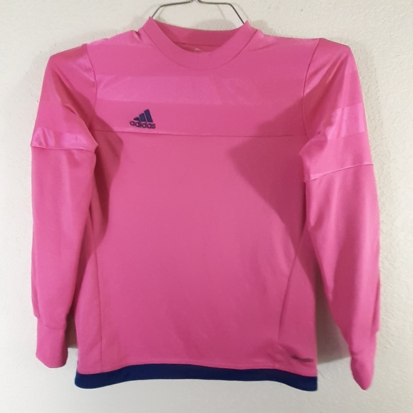 ADIDAS Youth Climalite  Youth Size M PInk Padded f